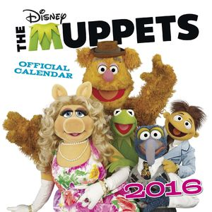 Clipart for calendar front for 2016 royalty free library The Muppets 2016 Calendar | Muppet Wiki | Fandom powered by Wikia royalty free library