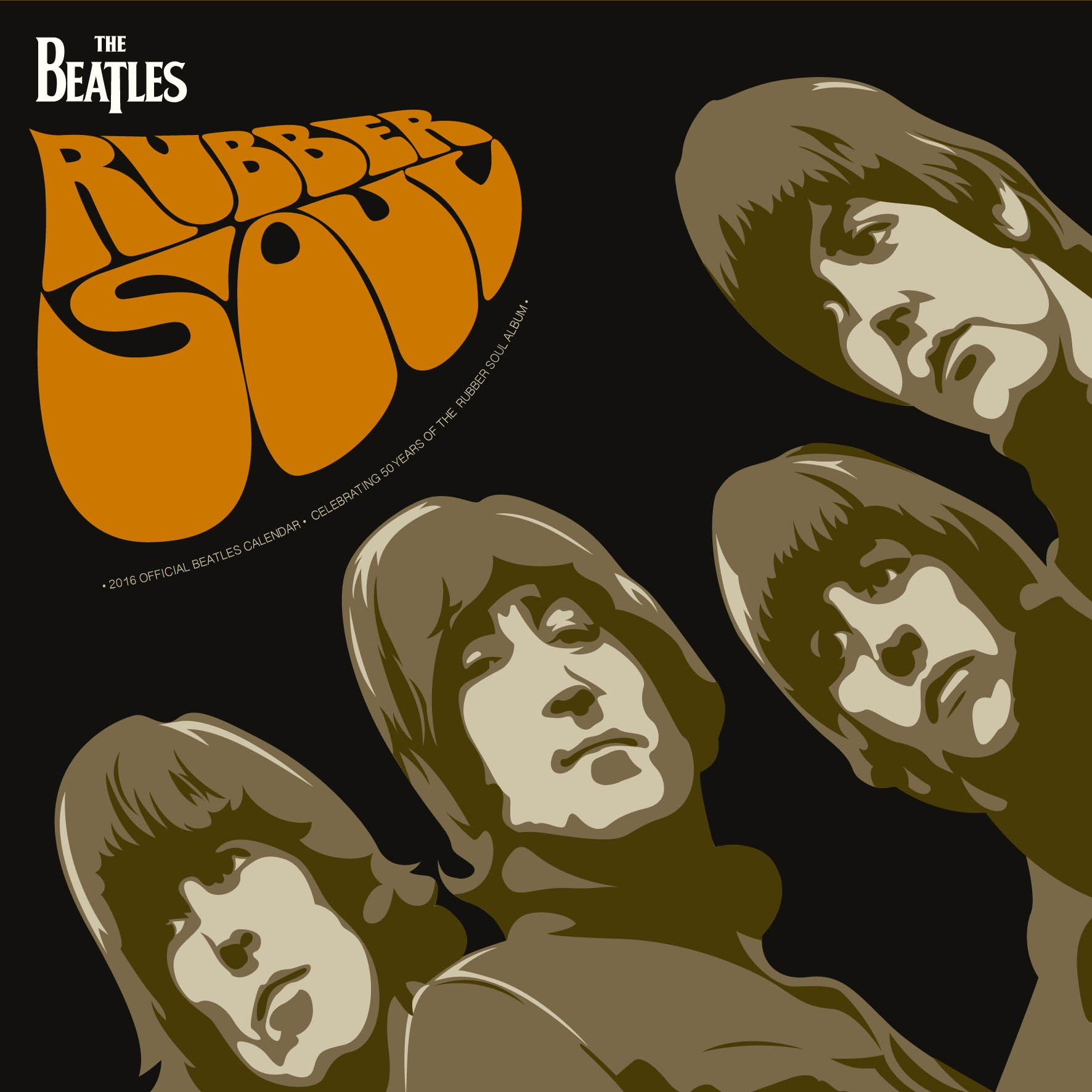 Clipart for calendar front for 2016 clipart free stock The Beatles Official 2016 Square Wall Calendar: Amazon.co.uk ... clipart free stock