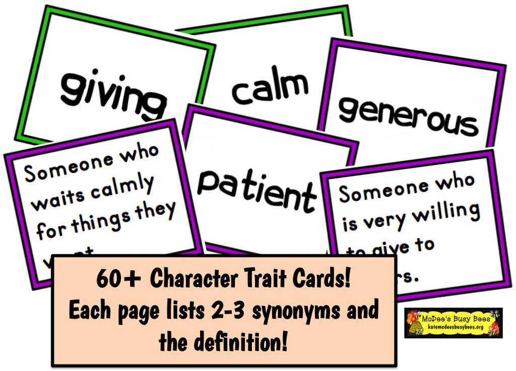 Clipart for character traits png royalty free library Character Traits | png royalty free library
