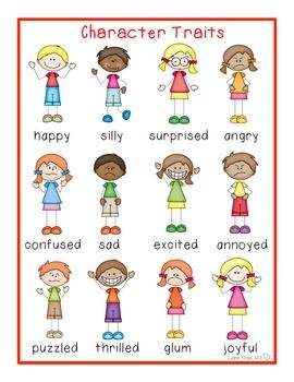 Clipart for character traits clip transparent stock Character Traits - Lessons - Tes Teach clip transparent stock