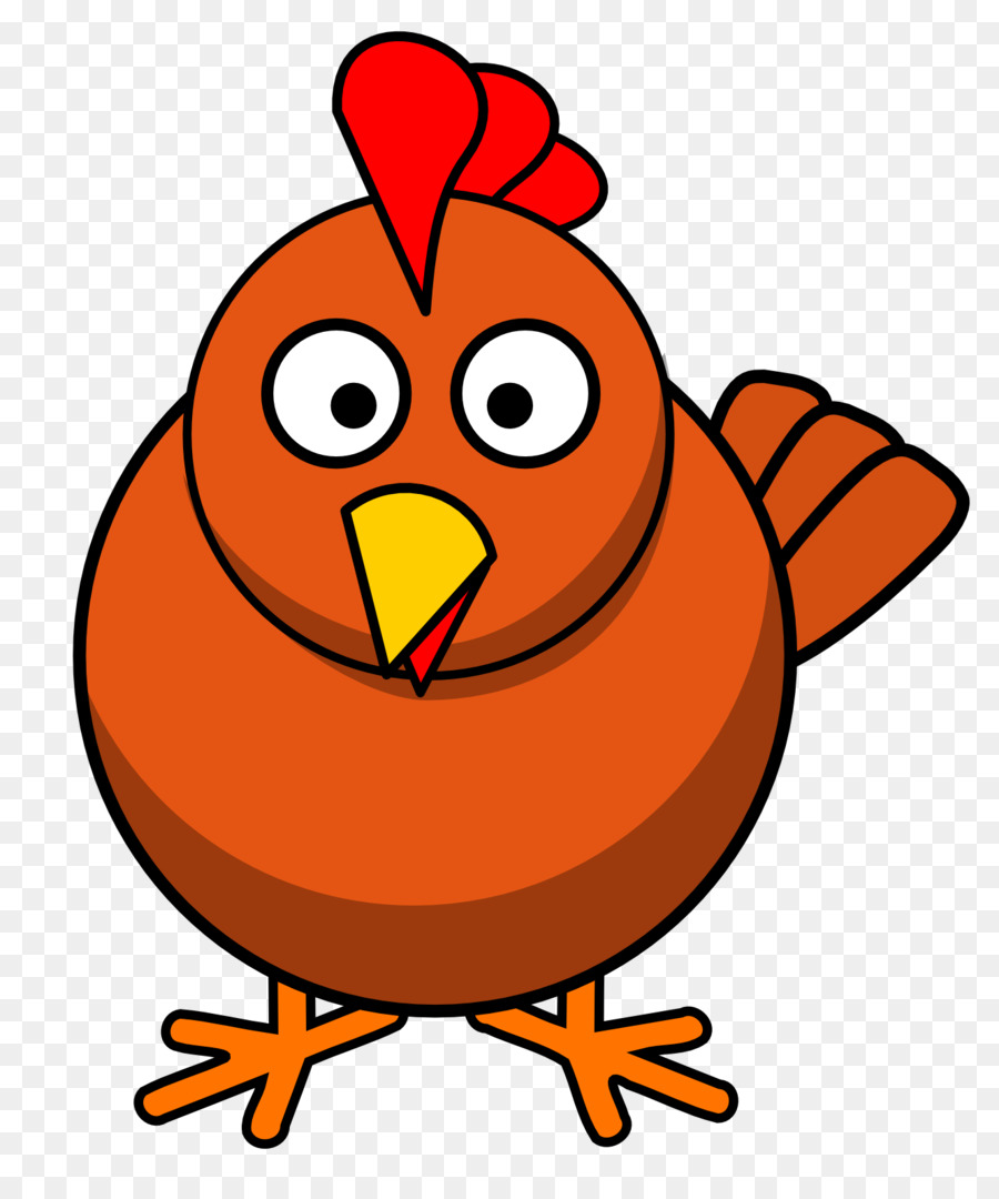 Clipart for chicken png library Chicken Cartoon clipart - Chicken, Orange, Graphics, transparent ... png library