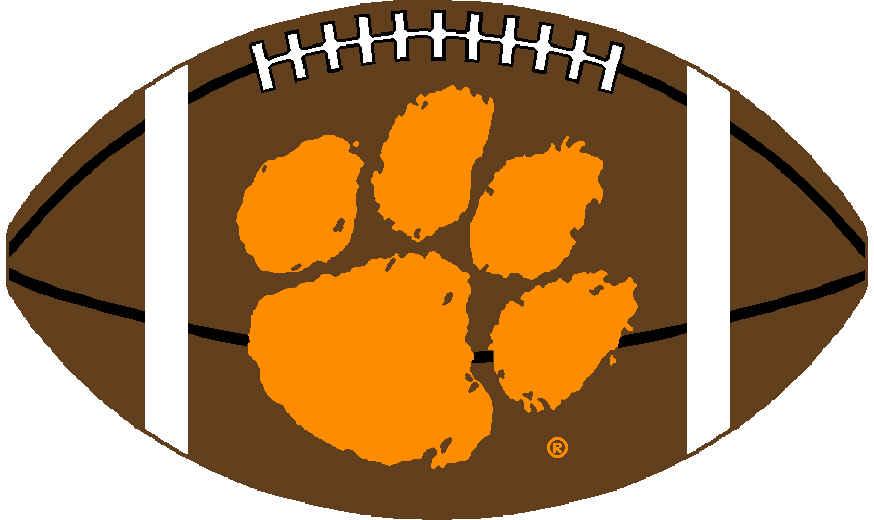 Clipart for clemson university png download Clemson University Tiger Paw Logo N2 free image png download