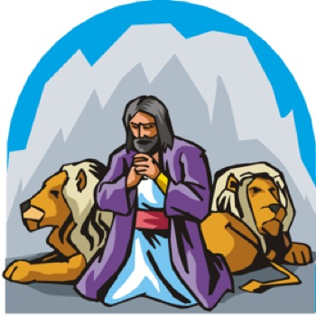 Clipart for daniel in the lion s den transparent Daniel in The Lions Den - Bible for Preschoolers transparent