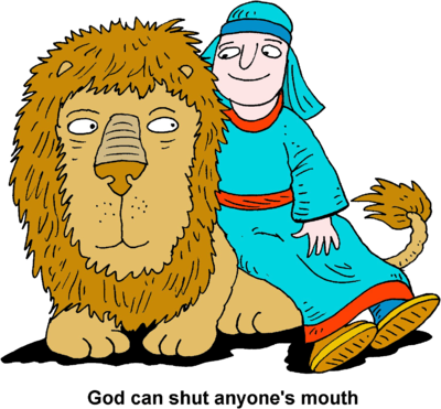 Clipart for daniel in the lion s den image free library Image: Daniel and the Lion | Daniel Clip Art | Christart.com image free library