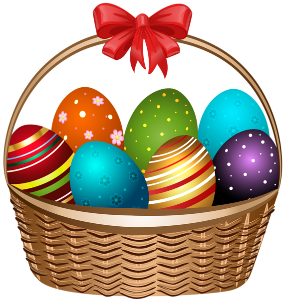 Clipart of easter basket clip royalty free Easter Basket Transparent PNG Clip Art Image | Easter | Pinterest ... clip royalty free