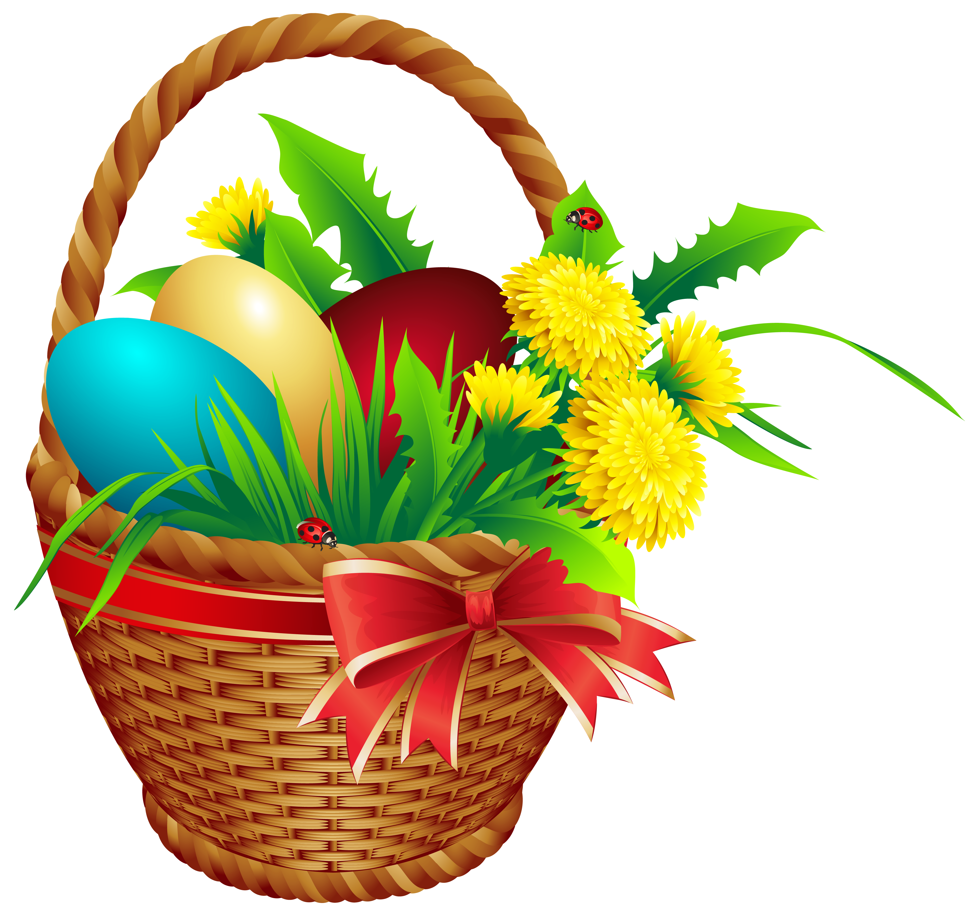 Clipart of easter basket picture library Easter Basket PNG Clip Art Image picture library