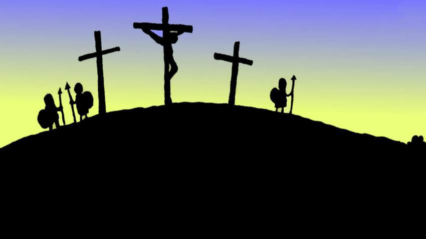 Clipart for easter jesus and the two thieves clip art royalty free library The Full Easter Story -- whyeaster?com clip art royalty free library