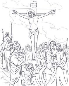 Clipart for easter jesus and the two thieves image freeuse stock 16 Best JESUS ON THE CROSS images in 2019   Christian art, Word of ... image freeuse stock
