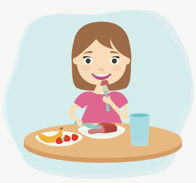Clipart for eating clipart transparent stock Breakfast Eating Child Clip Art - Eating Healthy Foods Clipart ... clipart transparent stock