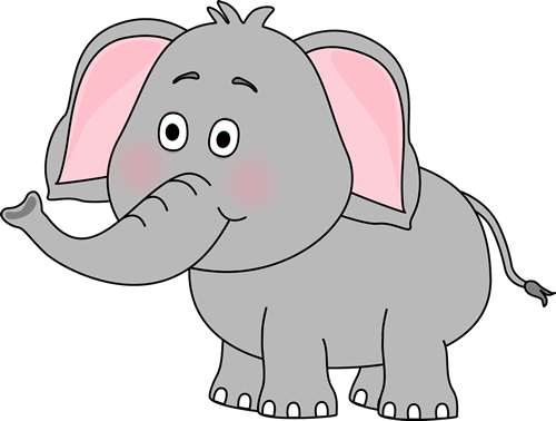 Clipart for elephant royalty free library Cute Car Clip Art | Cute Elephant Clip Art Image - cute elephant ... royalty free library