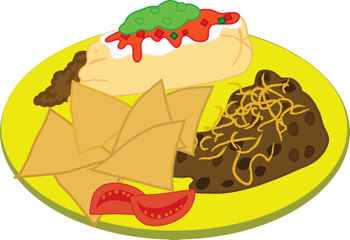 Clipart for food. Free clip art of