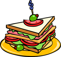 Free animations sandwich. Clipart for food
