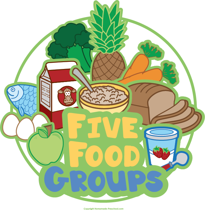 Clipart for food graphic transparent library Free Food Groups Clipart graphic transparent library