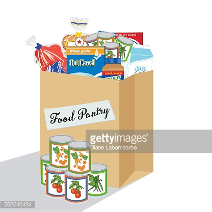 Clipart for food bank clip art library download Food Bank Donation Concept Vector Art | Getty Images clip art library download