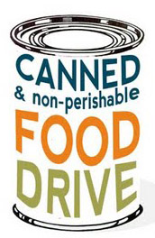 Clipart for food drive graphic black and white download Food drive border clipart - ClipartFest graphic black and white download
