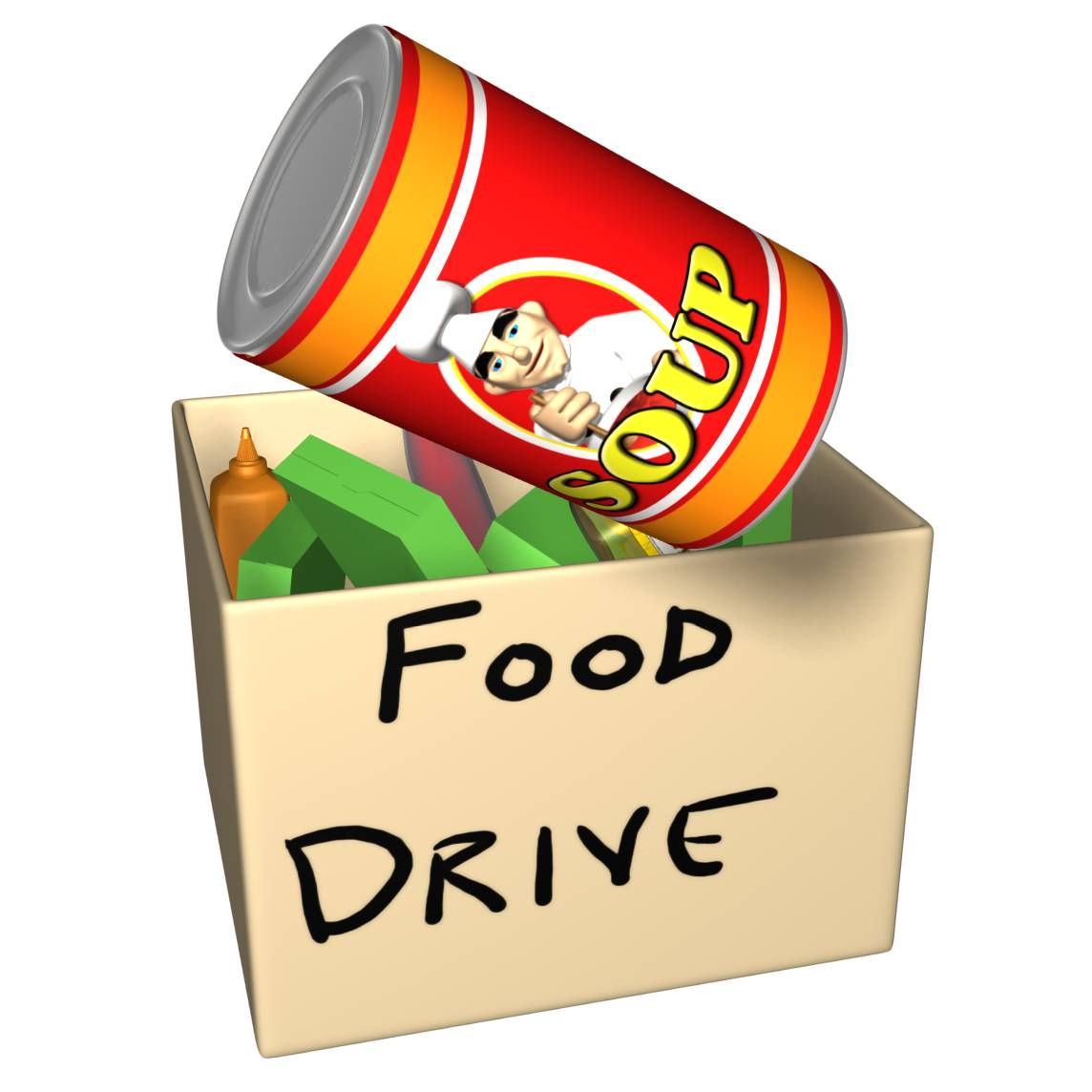 Clipart for food drive graphic free library Canned Goods Clipart - Clipart Kid graphic free library