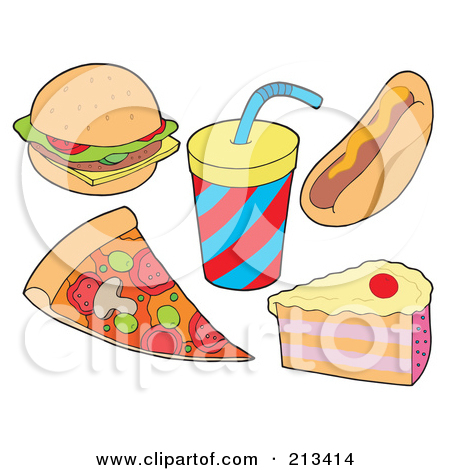 Clipart for food items svg black and white library Food Items Clipart - Clipart Kid svg black and white library