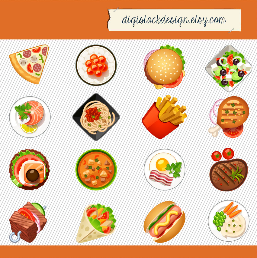Clipart for food items jpg freeuse Fastfood Clipart | Free Download Clip Art | Free Clip Art | on ... jpg freeuse