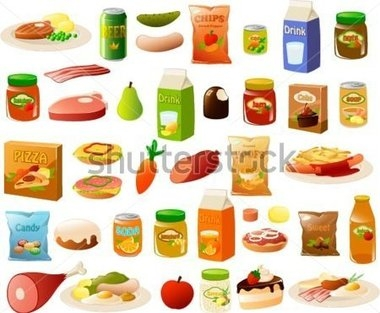Clipart for food items clip transparent Clipart Of Food Items - clipartsgram.com clip transparent