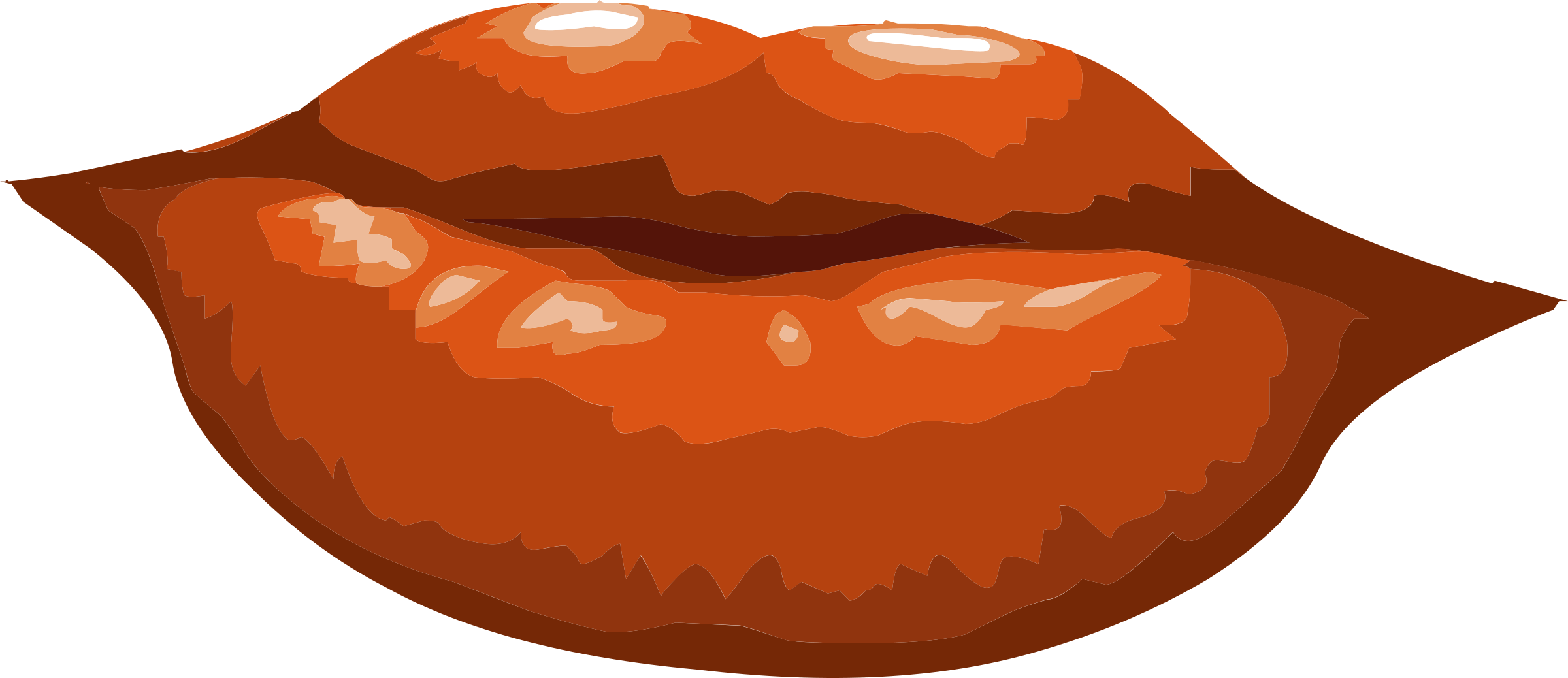 Clipart for food misc png library stock Clipart - Misc Lips png library stock
