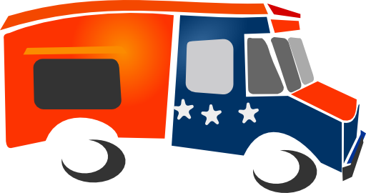 Clipart for food truck png Food Delivery Truck Clipart - Clipart Kid png