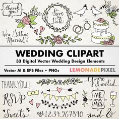 Clipart for free download picture black and white stock wedding programs clip art free | free wedding clip art for ... picture black and white stock