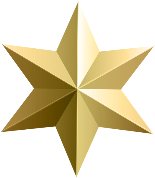 Gold star clipart no background clip library Gold Star Transparent PNG Clip Art Image | backgrounds - graphics ... clip library