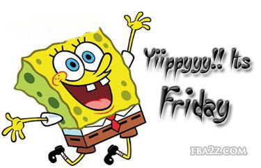 Clipart for happy friday