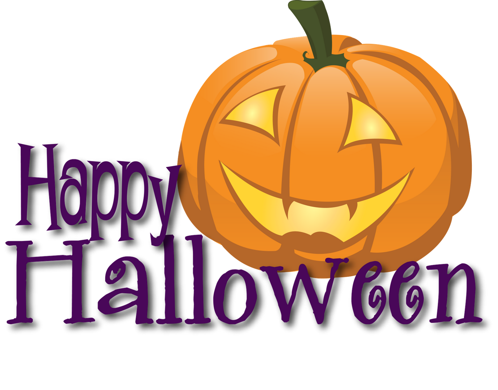 Happy halloween pumpkin clipart clip freeuse stock Happy Halloween Banner Clip Art – Fun for Christmas clip freeuse stock