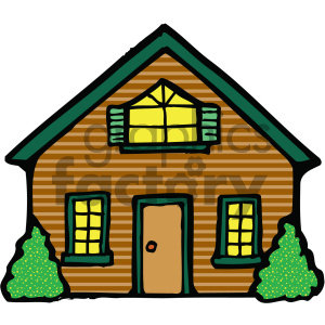 Clipart of houses and buildings vector free download house clipart - Royalty-Free Images | Graphics Factory vector free download