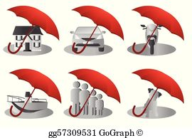 Clipart for insurance clip art library Insurance Clip Art - Royalty Free - GoGraph clip art library