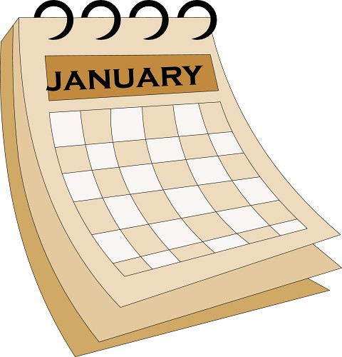 Clipart for january 2016 calendar freeuse download Calendar clipart january - ClipartFox freeuse download