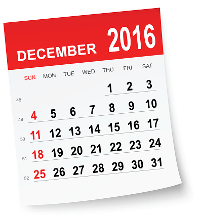 Clipart for january 2016 calendar image library Clip Art, Vector Images & Illustrations - iStock image library
