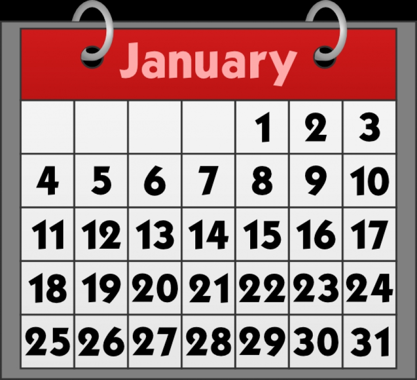 Clipart for january 2016 calendar picture free stock free to use amp public domain calendar clip art within calendar ... picture free stock