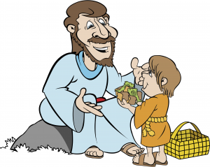 Clipart for jesus says blessed are you who are hungry picture royalty free stock Feeding of the 5000 « RE:quest picture royalty free stock