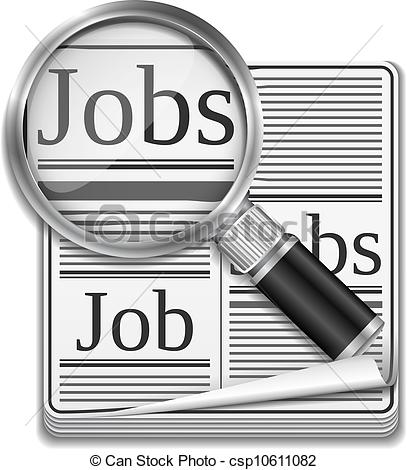 Clipart for job search jpg black and white library Job Search Clipart - Clipart Kid jpg black and white library