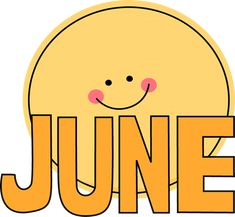 Welcome to june clipart banner transparent 18 Best June Clipart images in 2018 | Calendar june, Months in a ... banner transparent