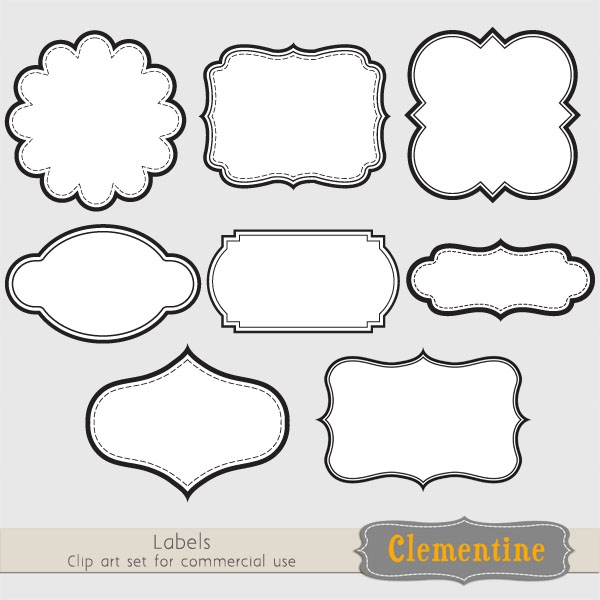 Clipart for labels image free download Free Label Cliparts, Download Free Clip Art, Free Clip Art on ... image free download