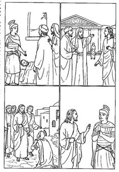 Clipart for luke 7 1 10 banner black and white library 20 Best Centurion images in 2017 | Bible crafts, Sunday school ... banner black and white library