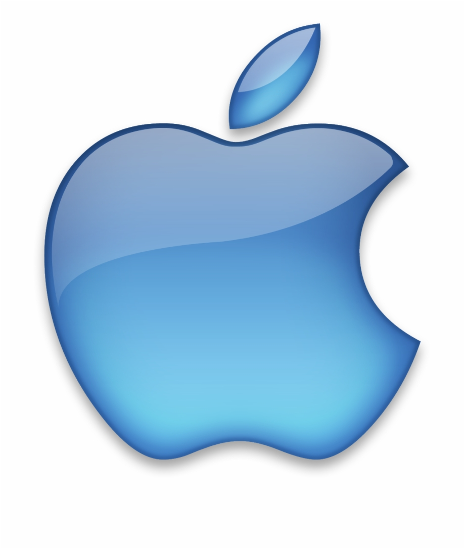 Clipart for mac os x free download vector black and white library Crystal Logo Mac Computer Symbol Png Free Download - Blue Apple Logo ... vector black and white library
