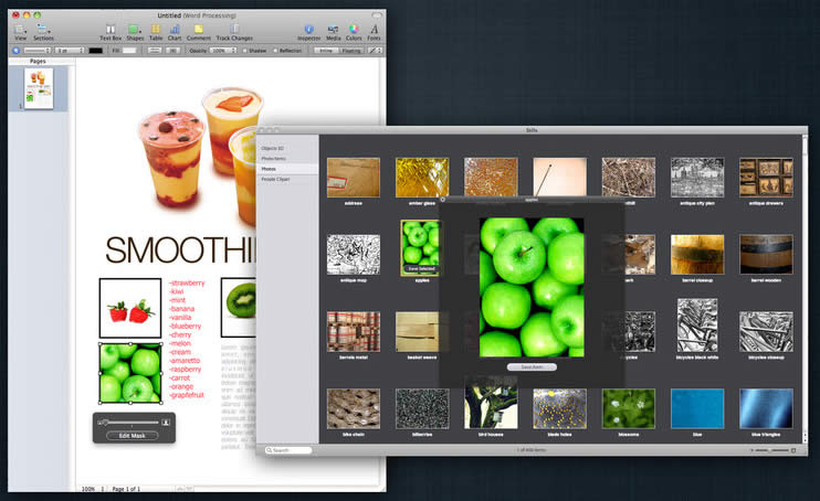 Clipart in pages for mac
