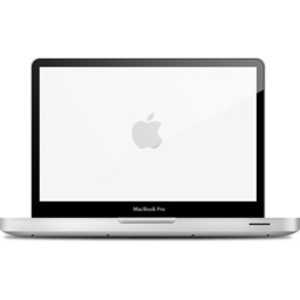 Clipart for macbook air vector black and white library Macbook Clipart | Free Images at Clker.com - vector clip art online ... vector black and white library
