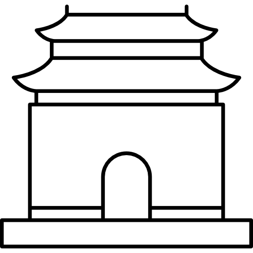 Clipart for ming dynasty china svg black and white download Ming dynasty tombs Icons | Free Download svg black and white download