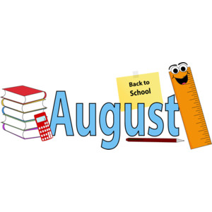 Clipart for month of august svg library library August school clipart - ClipartFest svg library library