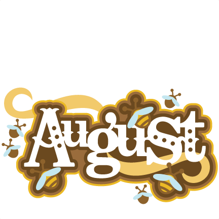 Clipart for month of august vector library library Month august clipart - ClipartFest vector library library