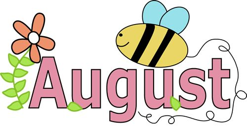 Clipart for month of august svg library library Month of august clipart - ClipartFest svg library library