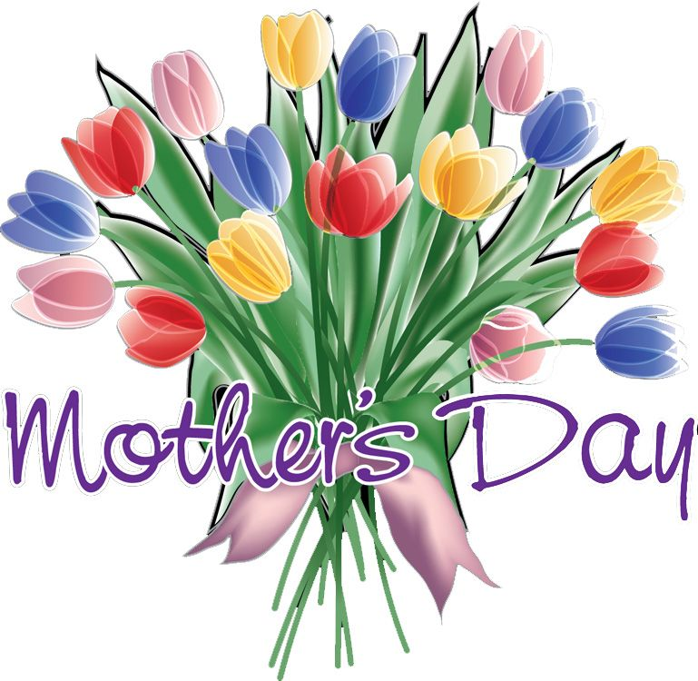 Free clipart happy mothers day vector black and white stock Mothers Day Clipart #3264 | Clip Art | Mother\'s day clip art, Happy ... vector black and white stock