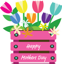 Happy mother-s day clipart images vector free Mothers Day Clipart - Clip Art Pictures - Graphics - Illustrations vector free
