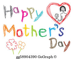 Happy mother-s day clipart images picture free stock Mothers Day Clip Art - Royalty Free - GoGraph picture free stock