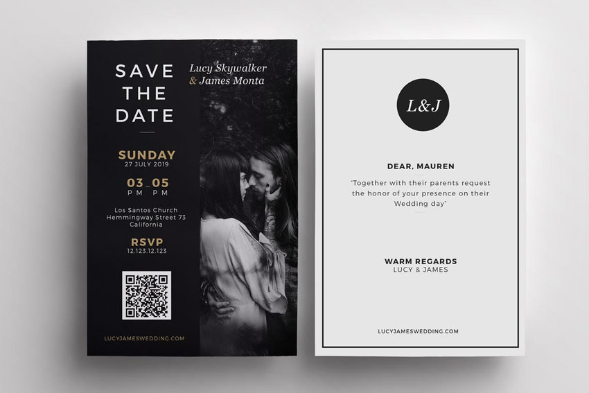 Clipart for powerpoint for save the date template svg free library 50 Stylish Wedding Invitation Templates svg free library